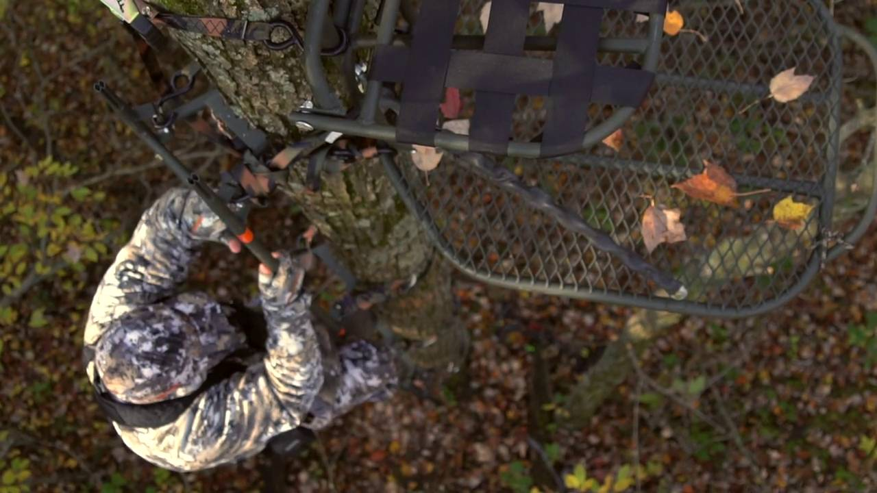 Treestand Comfort and Safety - Family Traditions Treestands