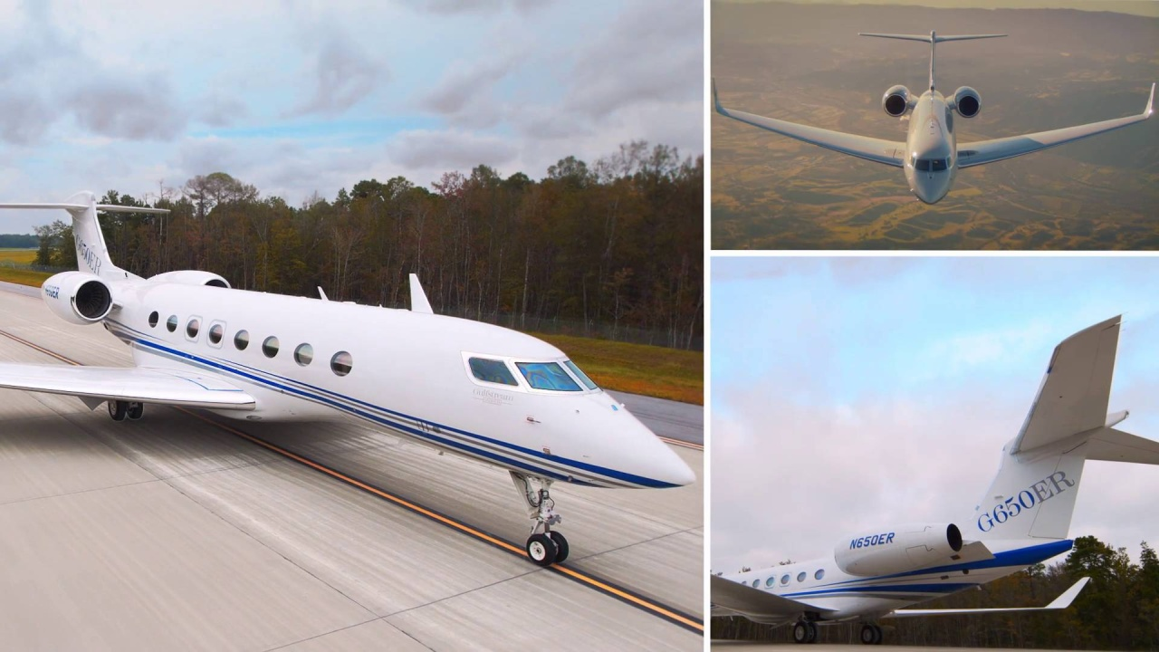 Gulfstream Aerospace - Aircraft - G650ER on