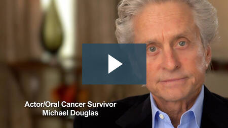 Image of Oral Cancer Survivor Michael Douglas