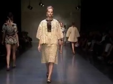Dolce & Gabbana Primavera-Verano 2013 Fashion Show [Video]