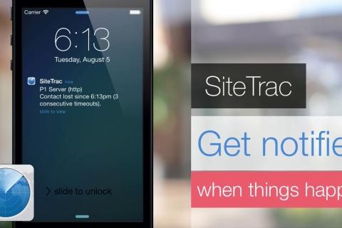 SiteTrac. Website monitoring service.