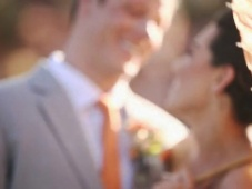 Inspiración para boda en color Tangerine Tango [Video]