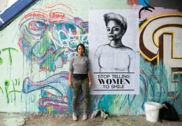 Stop Telling Women to Smile (artist, Tatyana Fazlalizadeh) thumbnail