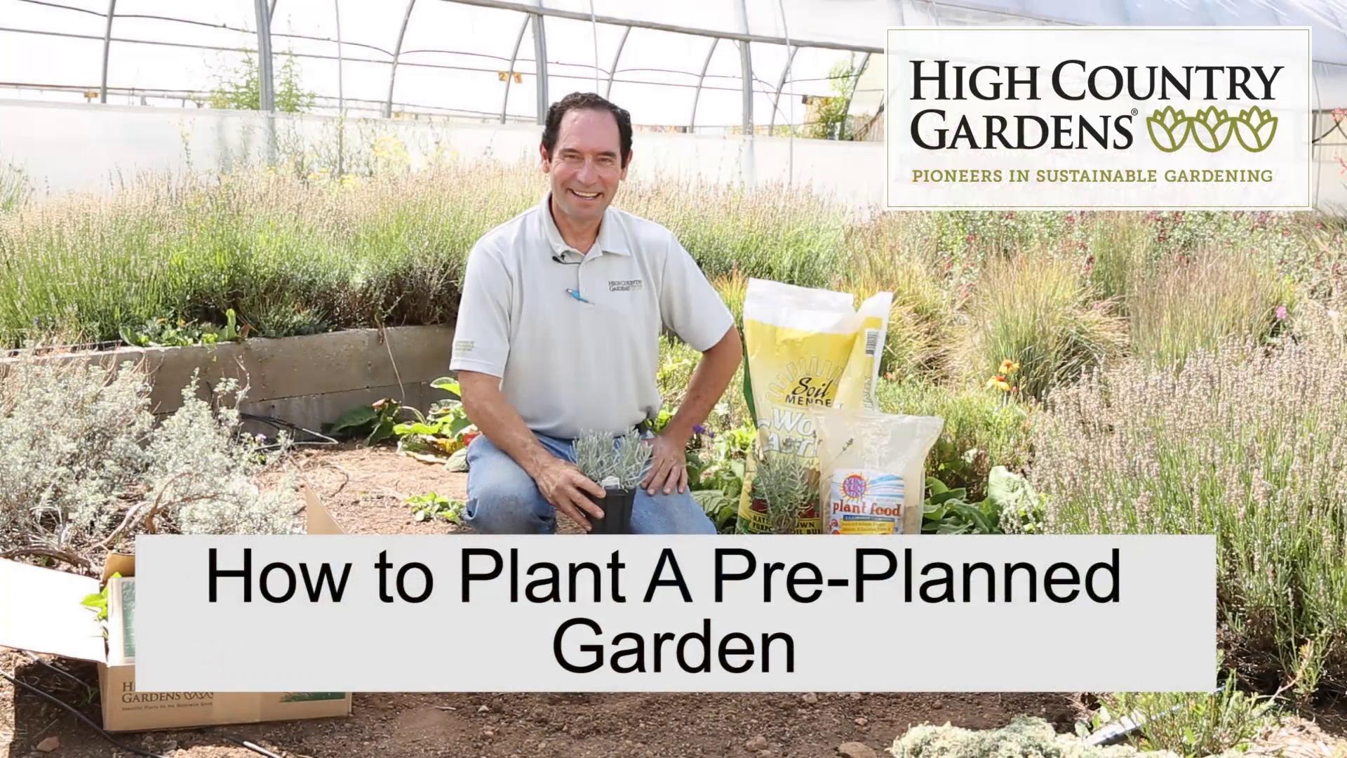 Pre Designed Perennial Gardens perennial flower garden design plans Pre Planned Gardens And Collections Garden Design High Country Gardens