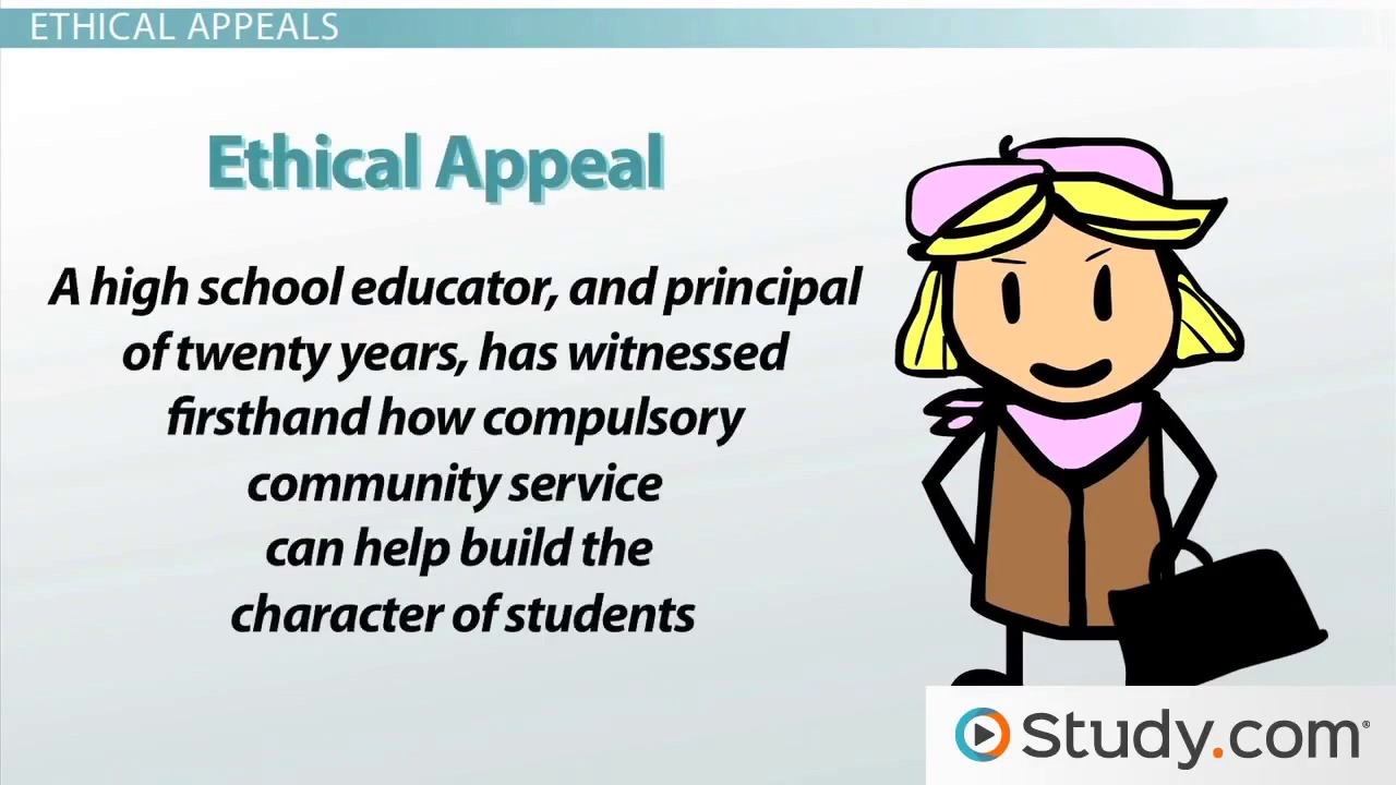 ethical appeal definition examples video lesson transcript how to engage readers by picking and developing an appeal