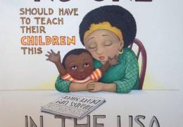 Mary Engelbreit illustration in response to Ferguson thumbnail