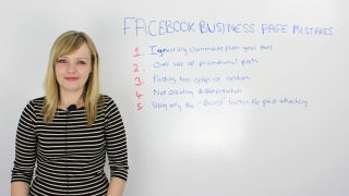 Top Facebook Business Page Mistakes