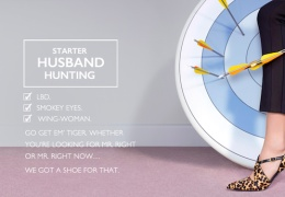 "Nine West ad – ""Starter Husband Hunting"" shoes thumbnail"