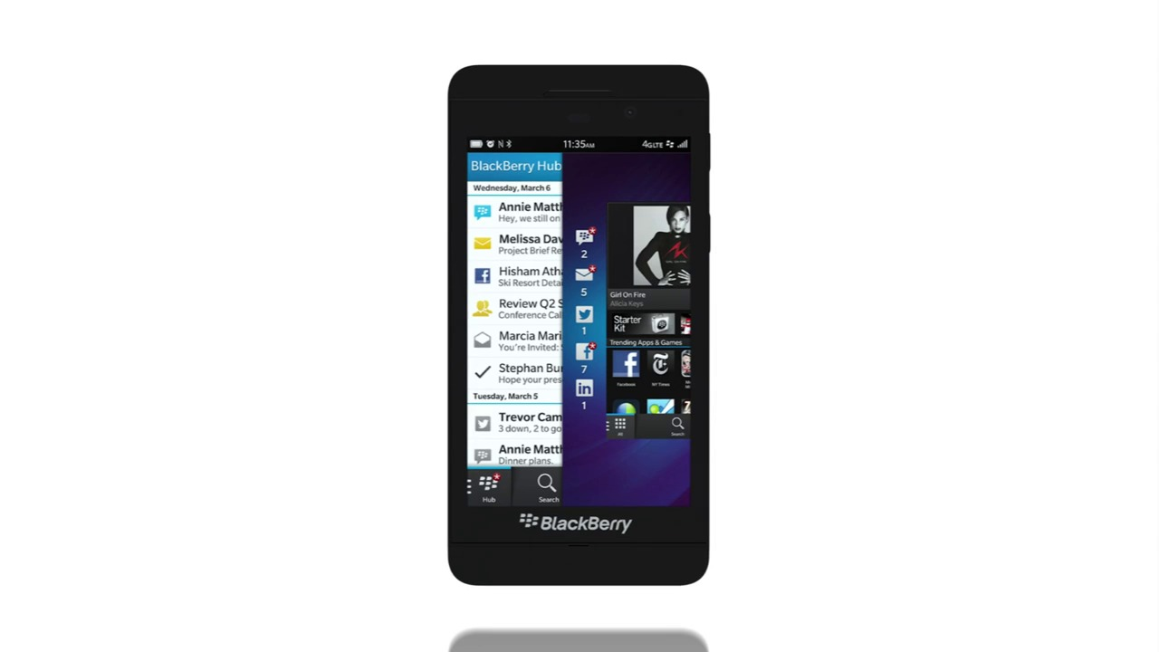 AirWatch Blackberry Management