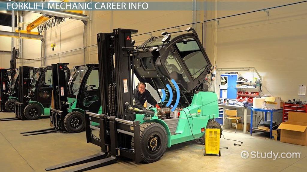 Become A Forklift Mechanic StepbyStep Career Guide - Forklift mechanic