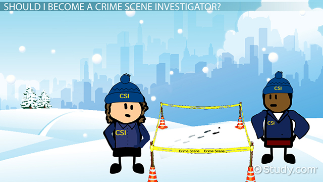 how to become a crime scene investigator career roadmap - Description Of A Crime Scene Investigator