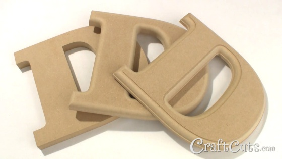 about mdf wooden letters
