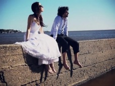 Trash the dress en Colonia del Sacramento, Uruguay [Video]