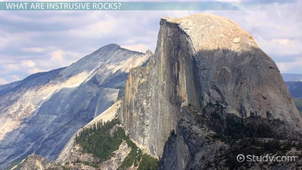 Intrusive Rocks: Definition & Examples - Video & Lesson Transcript ...