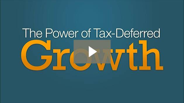 Power of tax differed growth