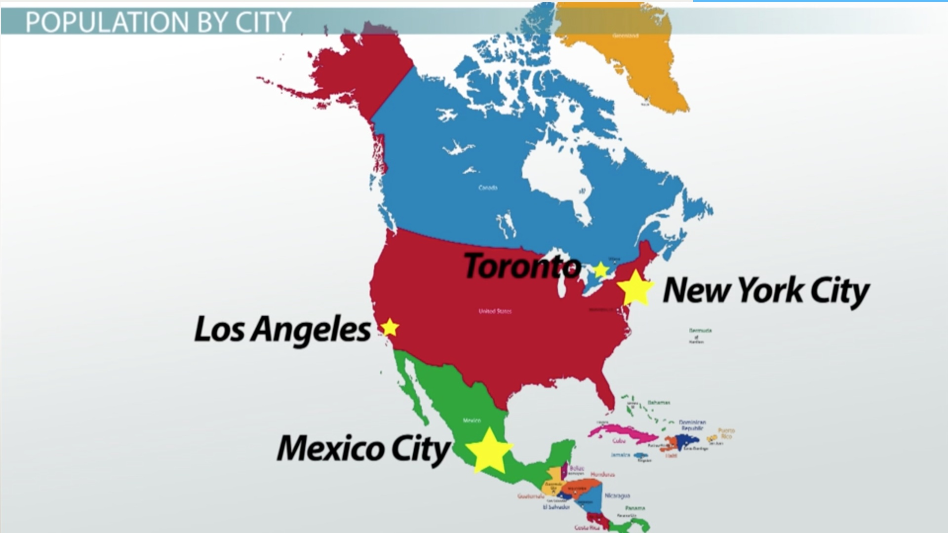 Analyzing Demographics In The U S Canada Mexico Video Lesson Transcript Study Com