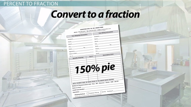 Converting Fractions to Percents & Back - Video & Lesson ...