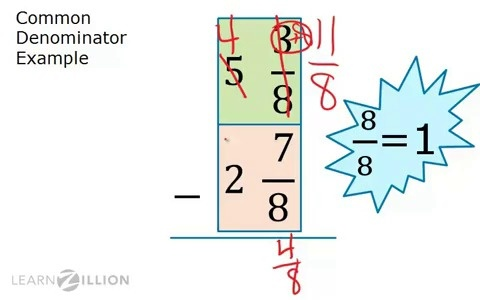 how to work wiht fractions withut a calcukaor