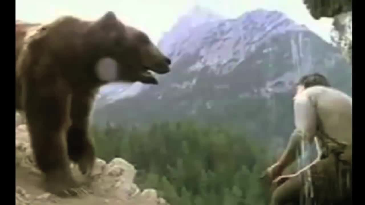 Man Vs. Bear: Who Has Dominion For Real?