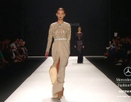 Vestidos de fiesta 2013 de Naeem Khan en Mercedes Benz Fashion Week