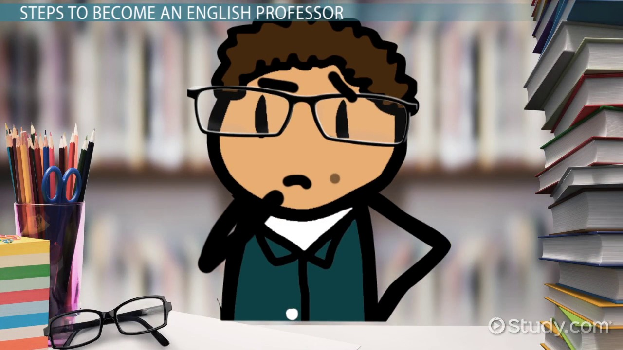 how to become an english professor career roadmap