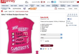JC Penney - Best Subjects T-shirt thumbnail