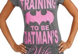 Training to be Batman's Wife t-shirt thumbnail