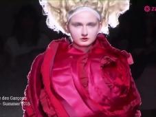 Comme des Garçons 2015: profondo rosso [Video]