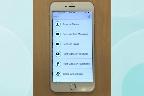 Pingz - create and share personalized video messages.