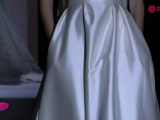Estiliza tu figura: La tendencia en vestidos de novia 2015 entallados en la cintura serán tus favoritos [Video]