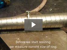 resizing a ring