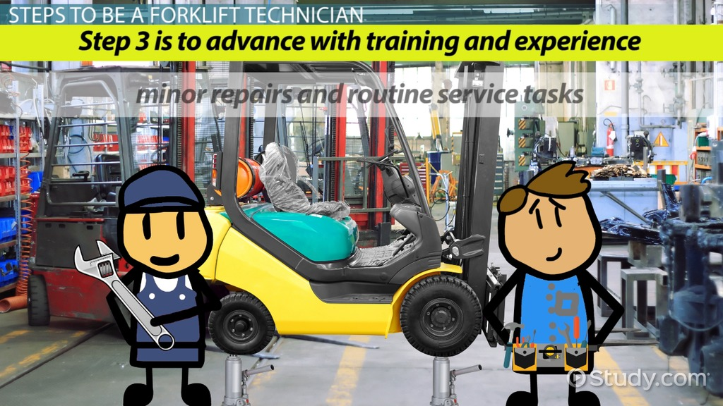 How To Become A Forklift Technician Career Guide - Forklift mechanic