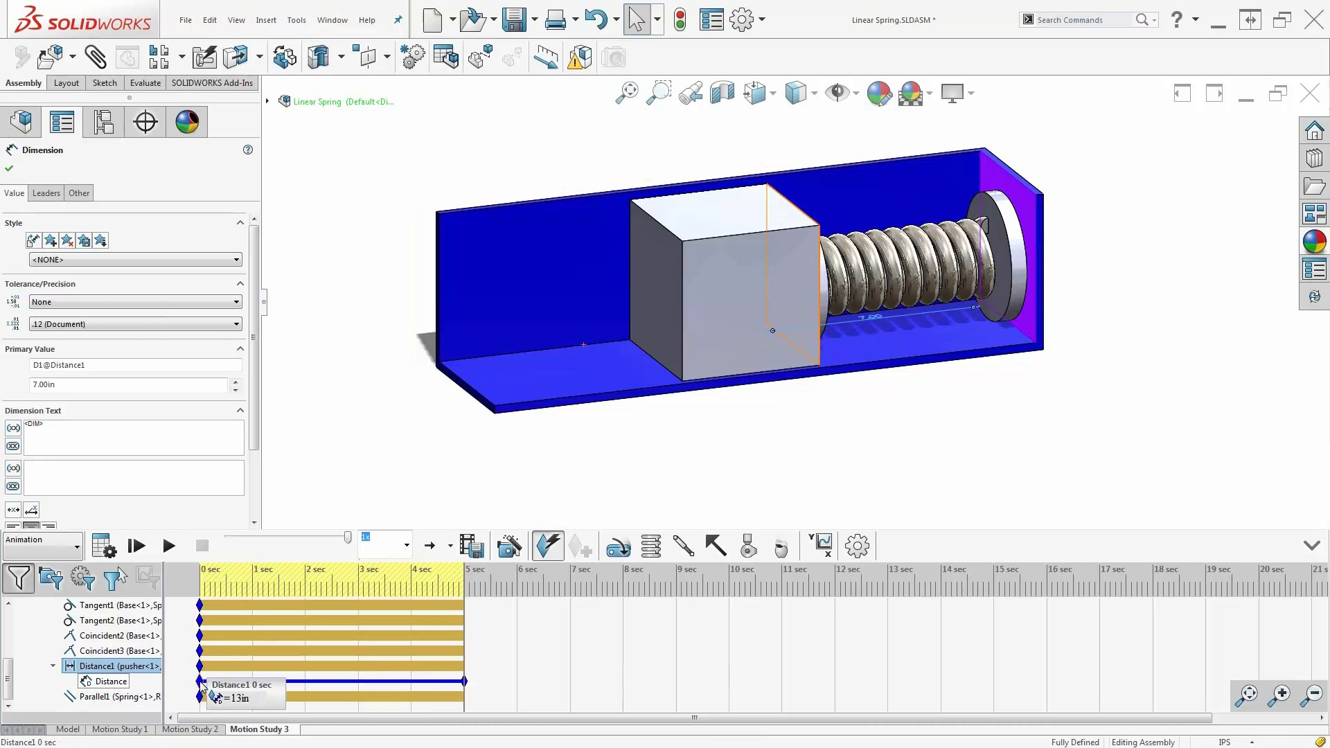 How To Make Spring Animations Using SOLIDWORKS - Solidworks electrical schematic serial number