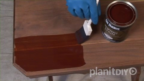 Refinishing an Antique Part 2 – Apply New Finish - Refinishing An Antique Part 2 - Apply New Finish PlanItDIY