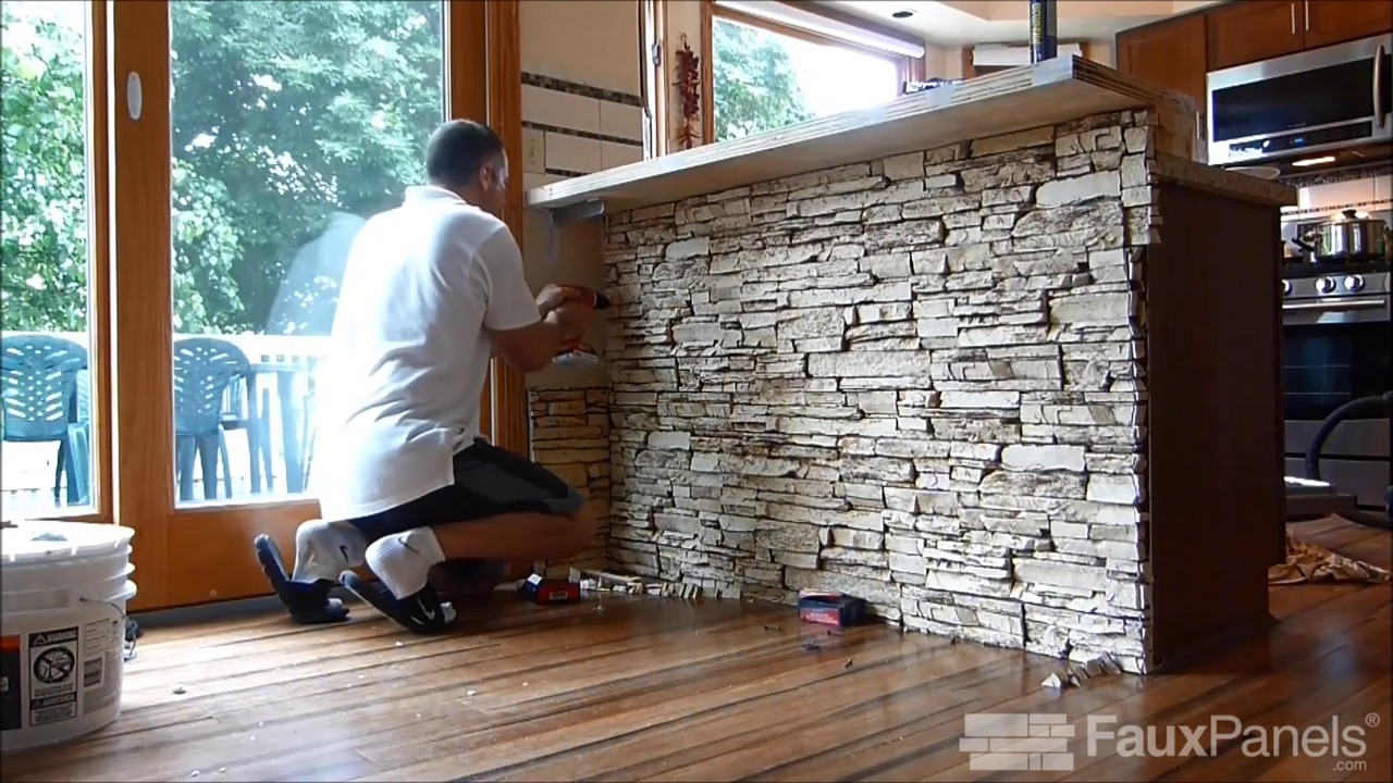 Installing Faux Paneling Siding Columns How To Guides