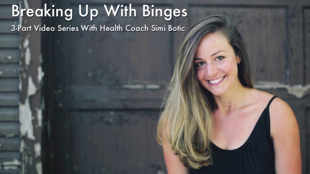 How to get out of a binge
