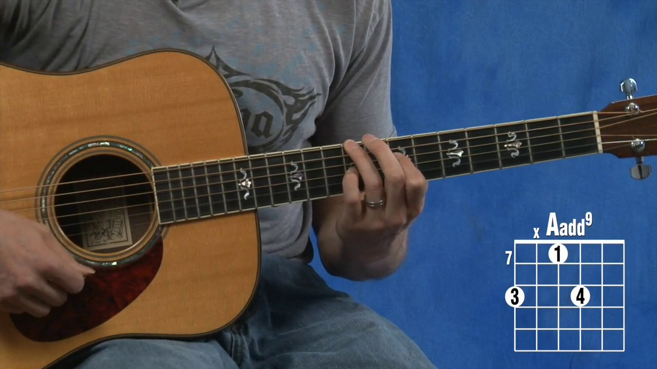 How to play a cadd9 g and d guitar chord video lesson hexwebz Gallery