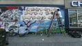 Diretamente de Nova York: um pedido de casamento em grafite