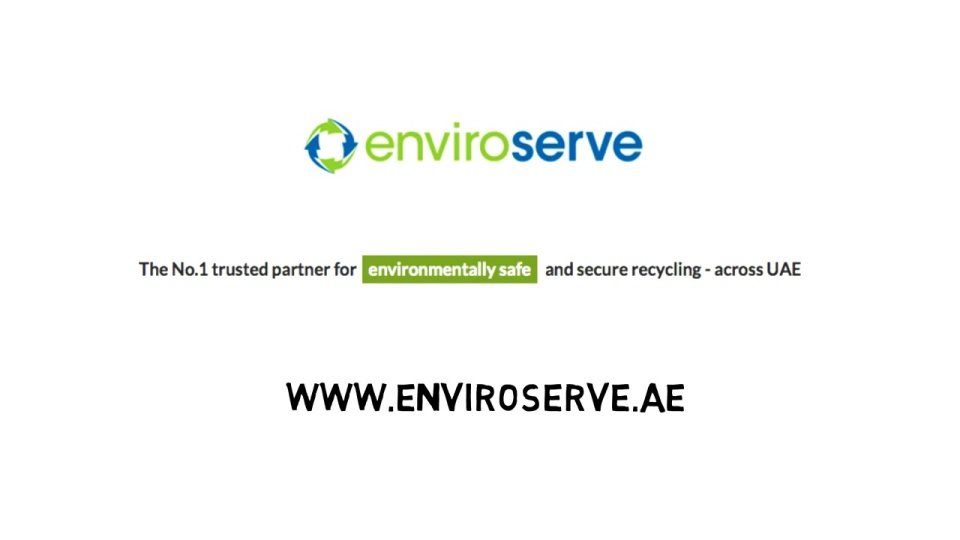 EnviroServe e-waste environmental recycling UAE Dubai