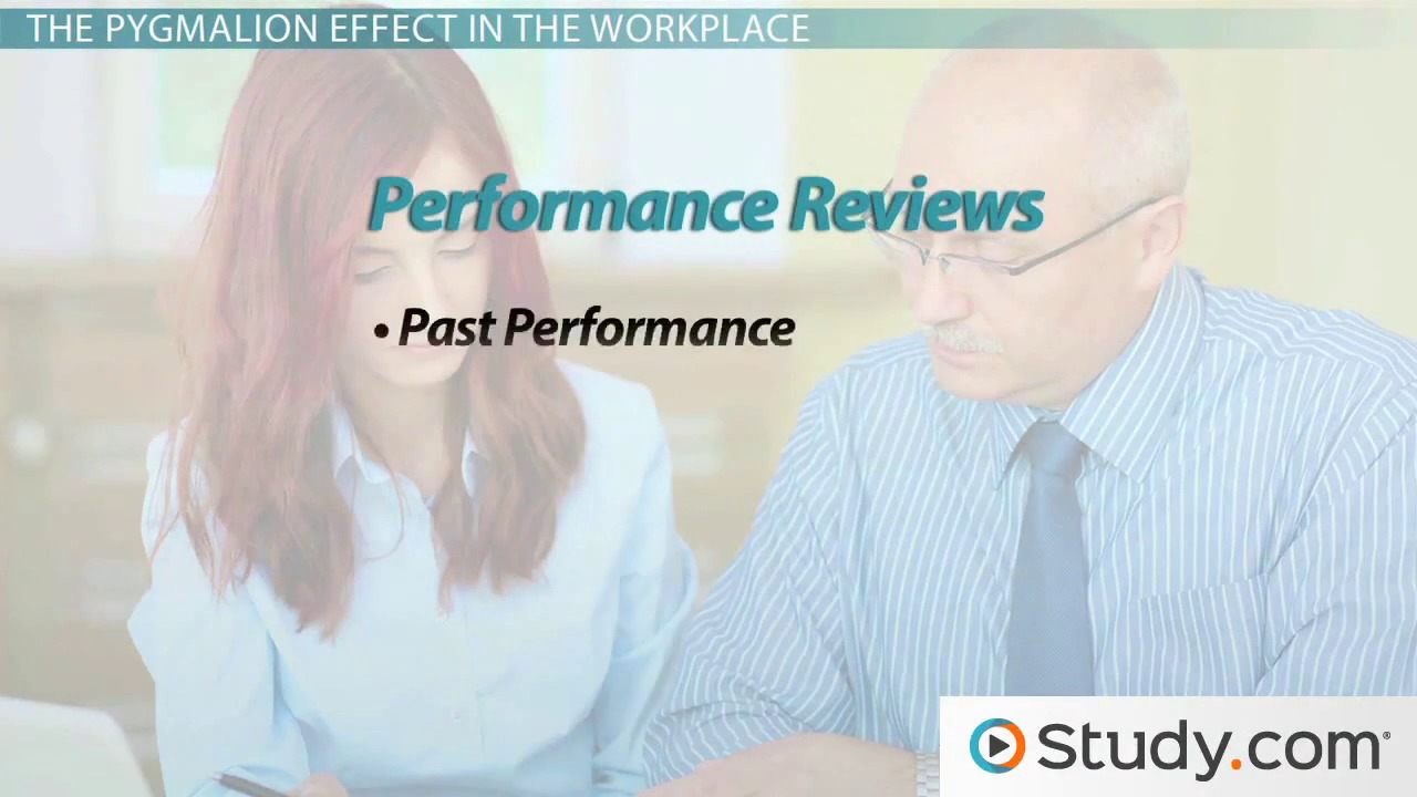 pyg on effect definition examples video lesson the pyg on effect influencing employee behavior