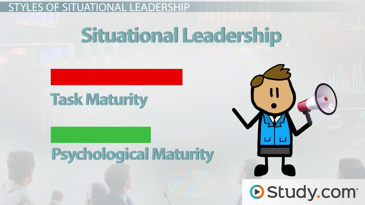 leadership leaders their role in organizations video lesson what is situational leadership theories styles definition