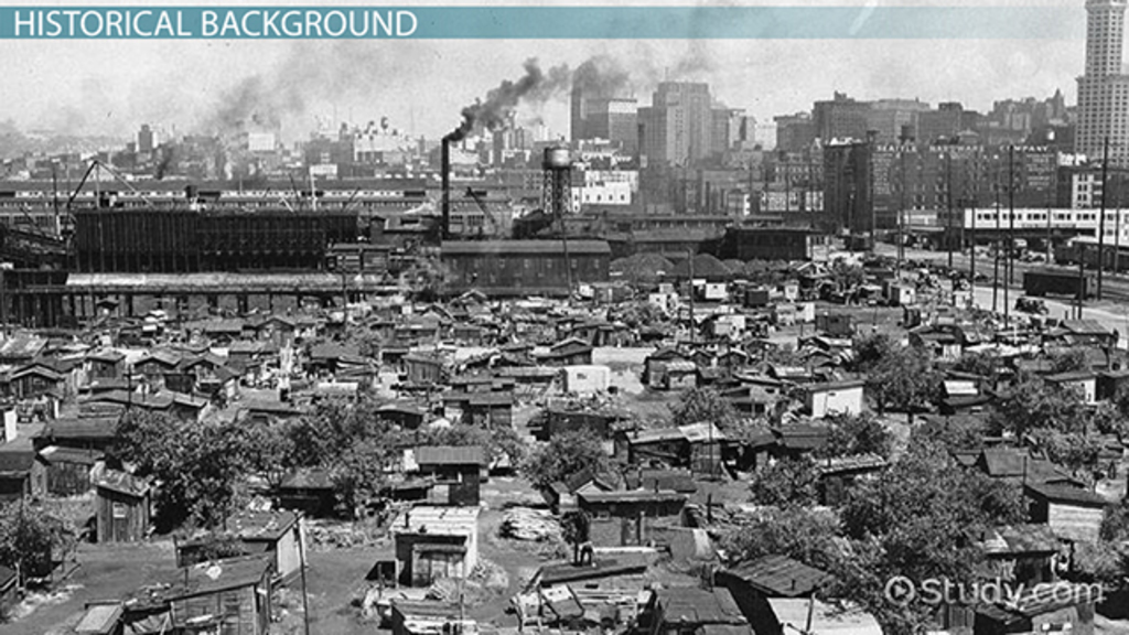 Hoovervilles in the Great Depression: Definition & Facts - Video ...