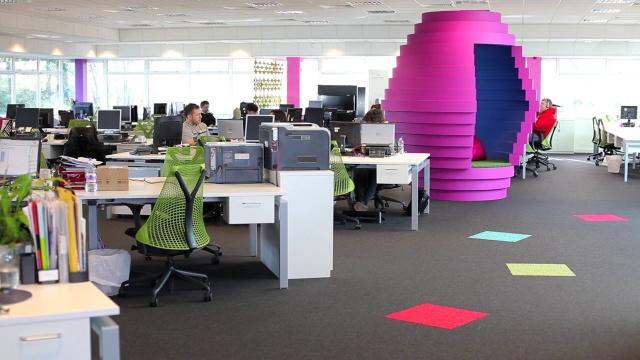 office design company. Case Study Video Office Design Company E