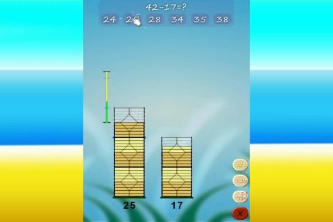 KidsCalculate Math Basics - educational family gameplay.