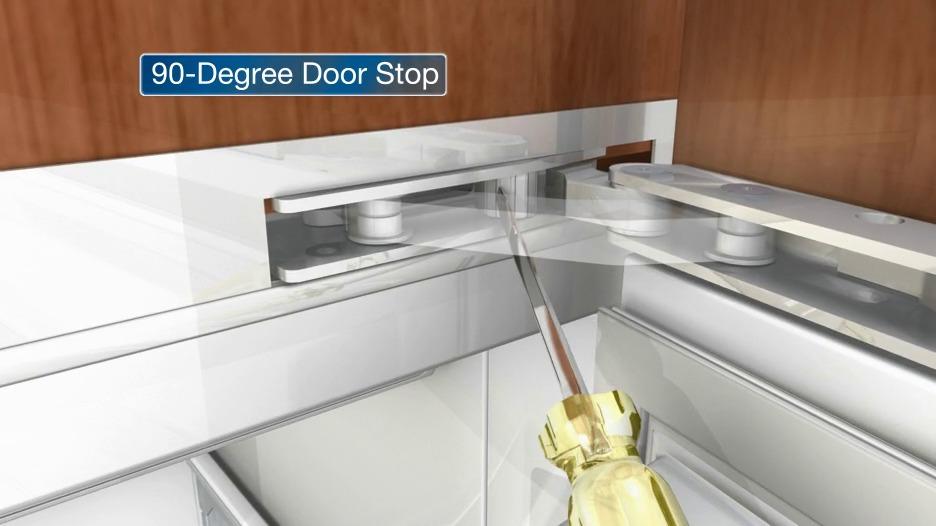 Genial 90 Degree Door Stop | Integrated Refrigeration U0026 Wine Storage  Installation Videos Early Models | Sub