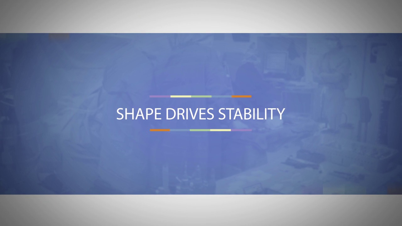 Shape Drives Stability Video