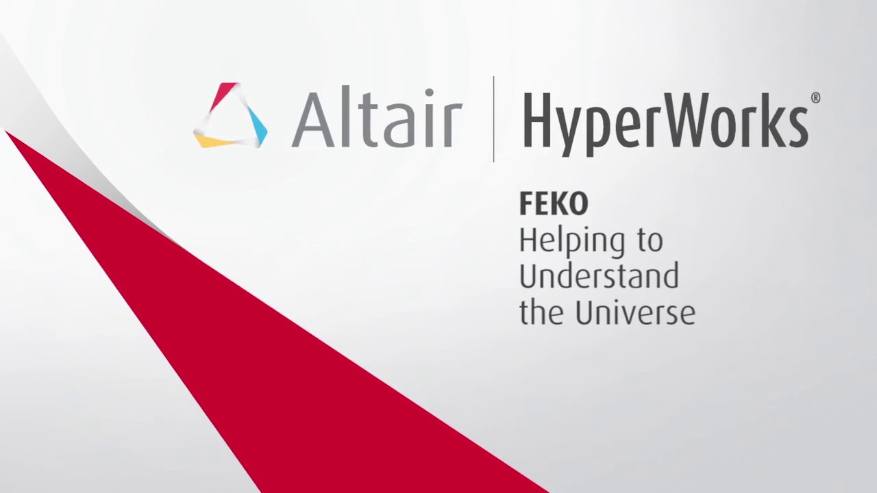 FEKO: Helping to Understand the Universe