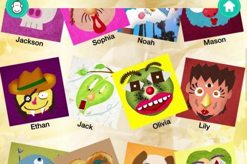 Face It Workshop - creativity app for children.