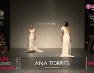 Pasarela de Ana Torres 2013 en Cibeles Madrid Novias