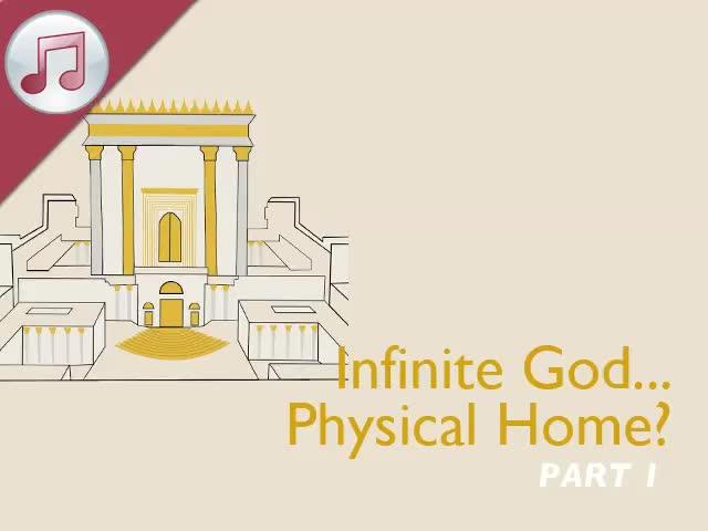 Infinite God...Physical Home? I